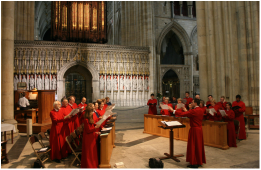 All Saints' Choir at York Minster 2012